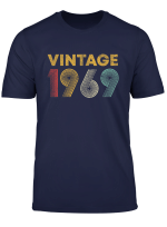 50 Years Old Born In 1969 Vintage 50Th Birthday T Shirt