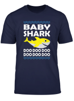 Baby Shark Doo Doo Shirt Family Daddy Mommy Brother Kid T Shirt