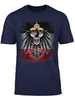 Deutsches Reich Reichsadler Flagge Deutschland Herren Damen T Shirt