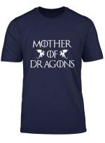 Womens Dragon Mom T Shirt For Girls Women Grandmother