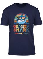 Retro Vintage Gramma Shark Doo Doo Tshirt