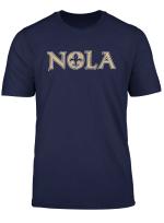 Nola New Orleans Football Vintage Louisiana Saint Retro T Shirt