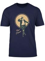 Retro Vintage Stepptanz Tanzen Tanzlehrer Tanzer Tap Dancing T Shirt