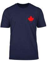 Kanada Flagge Ahornblatt Canada Flaggen Fur Damen Herren T Shirt