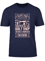 Quilting Sewing Machine Funny Sew Seamstress Sewer Quilter T Shirt