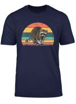 Retro Vintage Raccoon Animal Lover Zookeeper T Shirt