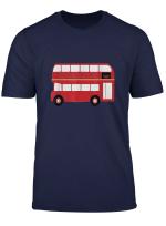 Double Decker Bus England Transportation T Shirt