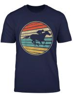 Horse Racing Vintage Retro 80S Style Jockey Lovers Gift Tee T Shirt