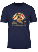 Funny German Shepard Yoga I M Mostly Peace Love And Light T Shirt