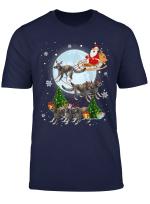 Lemurs Reindeer Christmas Funny Lemurs Lover Xmas Gifts T Shirt