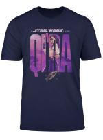 Star Wars Solo Qi Ra Word Fill Logo T Shirt