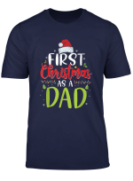 Herren First Christmas As A Mom Funny New Mom Mommy Christmas Gift T Shirt