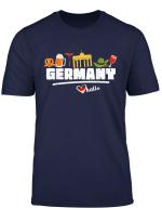 I Love Germany T Shirt Deutschland Travel Gifts For Men
