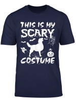 Golden Retriever Funny Halloween This Is My Scary Costume T Shirt