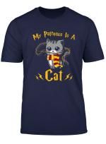 My Patronus Is A Cat T Shirt Cat Lover For Boy Girl Kid