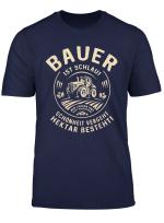 Original T Shirt Fur Informierte Landwirte Bauer Ist Schlau