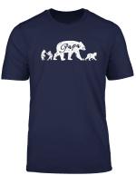 Unisex Cotton Papa Bear T Shirts Men Women Youth Tee T Shirt