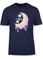 Aesthetic Clothing For Girls Pastel Moon Goth Shirts