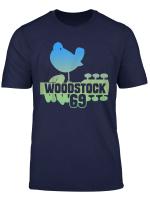 Woodstock Ombre 69 Dove Tee