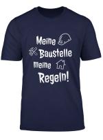 Bauherr Geschenk Tshirt Partnershirts Richtfest Manner Frau