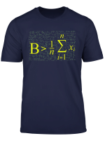 Be Greater Than Average Math Gift Back To School T Shirt