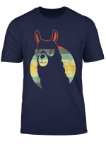 Lustiges Lama Alpaka Fur Frauen Und Manner Vintage Geschenk T Shirt