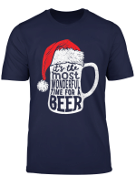 Christmas Shirts Men It S The Most Wonderful Time For A Beer