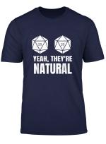 Womens Funny Natural 20 D20 Dnd Gaming Rpg Nerd Geeky Shirt T Shirt