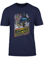 Star Wars Distressed Vintage Empire Strikes Back Poster T Shirt