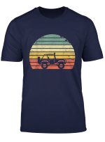 Vintage Jeeps Shirt Retro 70S Off Road Sunset Tshirt Tee