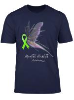 Mental Health Awareness Shirt Butterfly T Shirt