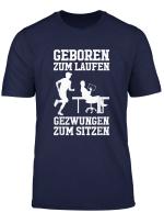 Herren Jogging Jogger Geschenk Laufer Arbeit Lustiger Spruch T Shirt