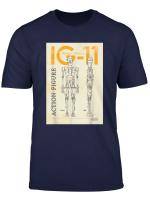 Star Wars The Mandalorian Ig 11 Droid Diagram T Shirt