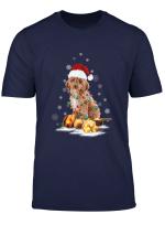 Cockapoo Christmas Dog Light T Shirt