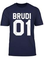Bruder Partnerlook Tshirt Brudi 01 Beste Freunde Shirt