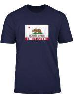 Hollister California Distressed Ca Republic Flag T Shirt