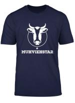 Landwirt Muhviehstar T Shirt Herren Damen Lustig Spruche