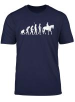 Pferde Design Fur Reiter Evolution Geschichte T Shirt