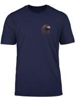 Falconer T Shirt Golden Eagle Head Falconry T Shirt
