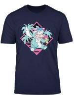 Disney Lilo Stitch Ice Cream Retro 90S Beach T Shirt