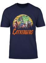 Vintage Catvengers T Shirt Cat Lover Men Women Kid Gift