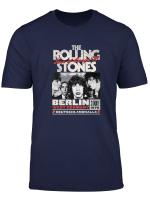 Herren The Rolling Stones Berlin 76 T Shirt