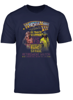 Wwe Wrestlemania Vii Ultimate Warrior Vs Macho Man T Shirt