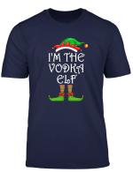 I M The Vodka Elf Shirt Matching Family Group Christmas T Shirt