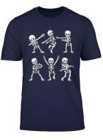 Dancing Skeletons Dance Challenge Funny Halloween Gift T Shirt