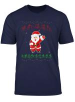 Bsl British Sign Language Deaf Merry Christmas T Shirt