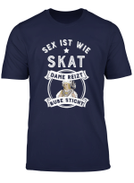 Herren Skat Spruch Geschenk Fur Skatspieler I Skatverein T Shirt