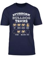 Hundetraining Und Tricks Englischer Bulldoggen T Shirt