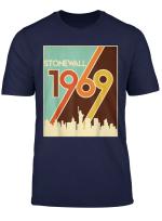 Vintage Stonewall 1969 50Th Anniversary Lgbtq Gay Pride Tee T Shirt