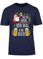 Ho Ho Hol Mir Mal Ein Bier Ugly Christmas Weihnachten T Shirt